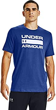 Under Armour Men's Wordmark Short Sleeve