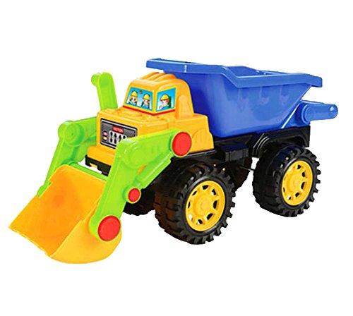 Gabelstapler Bulldozer Spielzeug Schiebetechnik Fahrzeuge Modell-Gelb Blau