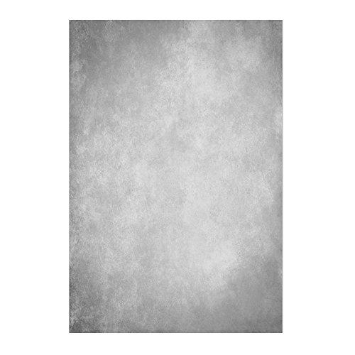 Muzi 1,5 x 2,2 m Grau Betonwand Hintergrund Retro Wallpaper Fotografie Kulissen Computer Drucken Hintergrund-9946