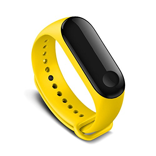 AWINNER Colorful Waterproof Replacement Bands for Xiaomi Mi Band 3 Smart Miband 3nd (No Activity Tracker)