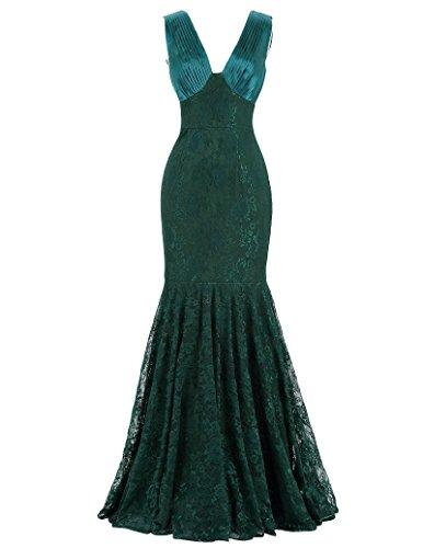 Sexy v-back prom dress geburtstag kleid hochzeitskleid bodenlang ballkleid lang abendkleid 42