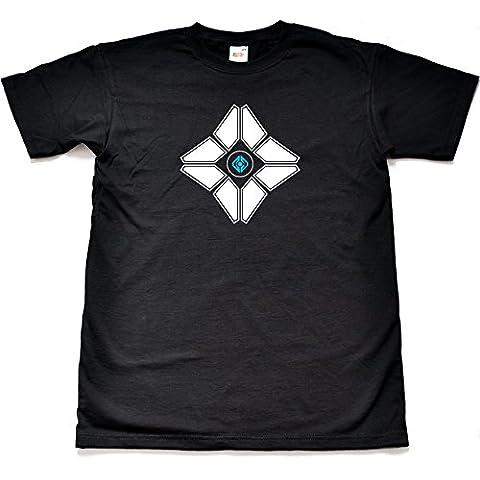 Teamzad Ghost construct Camiseta para hombre
