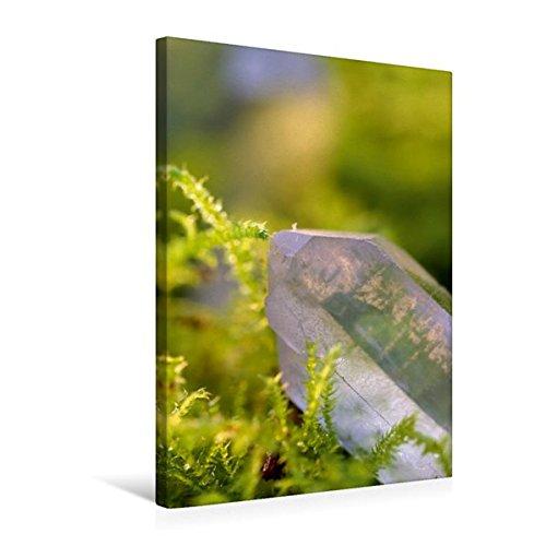 Premium Textil-Leinwand 50 cm x 75 cm hoch, Bergkristall | Wandbild, Bild auf Keilrahmen, Fertigbild auf echter Leinwand, Leinwanddruck: Ein...