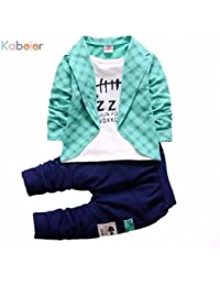 Funky Boys Blazer Set-Blue