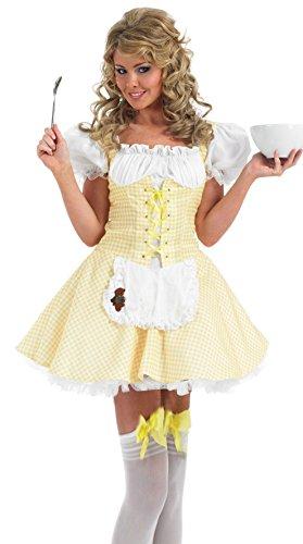 Forever Young - Damen Goldlöckchen-Kostüm - Größe 34
