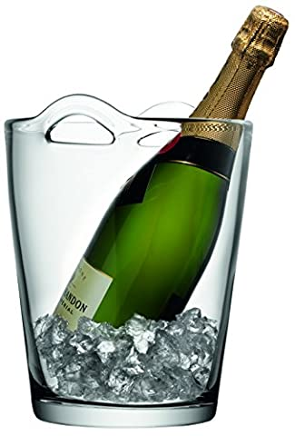 LSA International 26 cm Bar Champagne Bucket, Clear