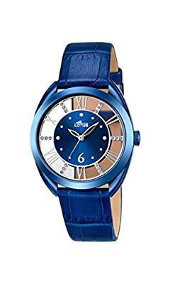 Lotus-Reloj de pulsera analógico para mujer cuarzo piel 18253/2