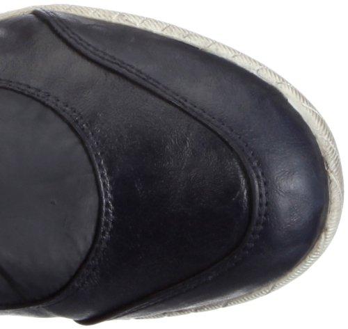 Damen TF Nappa Ines Bugatti Dunkelblau J14306N6 Synthetik Textil Stiefel Blau HxTAxwqCn