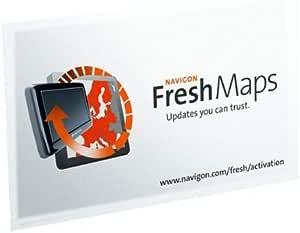Navigon Fresh Maps Carte d'activation Pour cartographies: Amazon.fr: GPS & Auto
