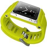 Wimo TikTok Bracelet de montre multi-tactile pour iPod Nano 6G Jaune