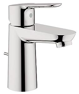 grifos: Grohe Start Edge - Grifo de baño con vaciador, cromo Ref. 23342000