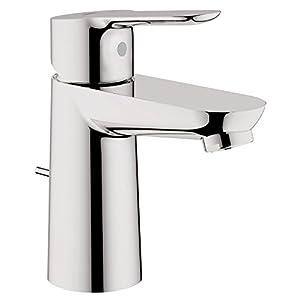 Grohe StartEdge – Set Grifo de baño y grifo de labavo con sistema de ahorro de agua y acabado cromado (Ref.23342000)