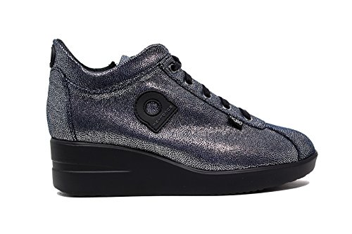 Agile by Rucoline Sneakers A Woman 226 PACHA SILVER MARINE nouvelle collection automne hiver 2016 2017