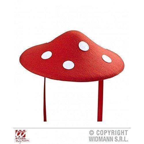 nenhut zum Schnüren aus Filz (Kind Roter Pilz Hut)