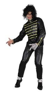 Perkins-Humatt 51273 - Disfraz de Michael Jackson para hombre