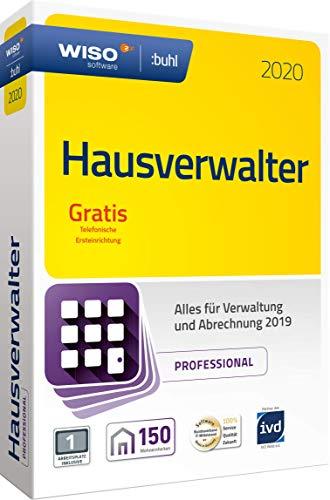 WISO Hausverwalter 2020 Professional - Die Profisoftware für alle Vermieter und Hausverwaltungen (WISO Steuer-Software) (Immobilien-steuer-software)