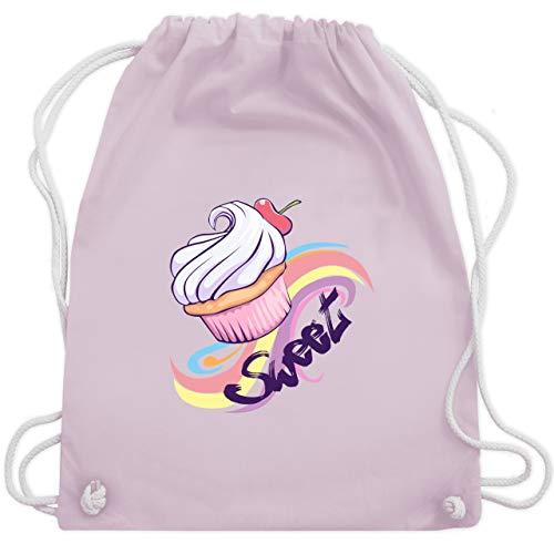 Cupcake - Unisize - Pastell Rosa - WM110 - Turnbeutel & Gym Bag ()