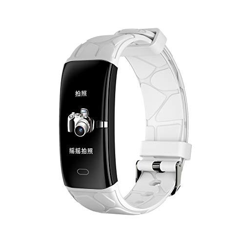 HTTXSBL Sportuhr Fitness Tracker Herzfrequenzerkennung Farbdisplay Bewegung Echtzeitüberwachung IP67 wasserdicht pâle