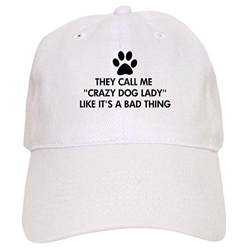 e633dcaa142 CafePress Call Me Crazy Dog Lady - Baseball Cap with Adjustable Closure