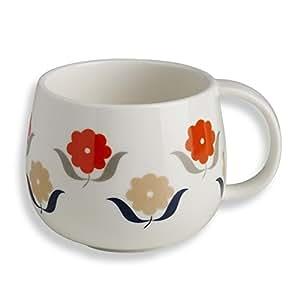 Mug Fleurs Roses et Rouges Mr & Mrs Clynk