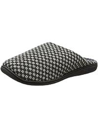 SNUGRUGS - Zapatillas de estar por casa de microvelvetón para hombre
