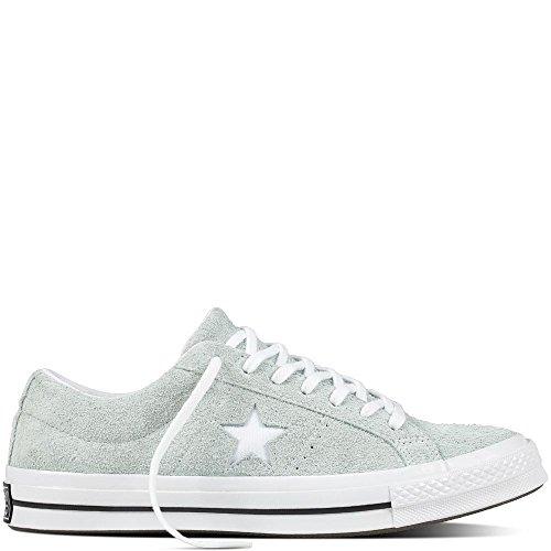 Converse One Star Suede (Converse Unisex-Erwachsene Lifestyle One Star Ox Suede Fitnessschuhe, Mehrfarbig (Dried Bamboo/White/Black 416), 41 EU)