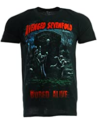 Avenged Sevenfold Buried Alive Tour 2012 T-shirt Official Licensed Music