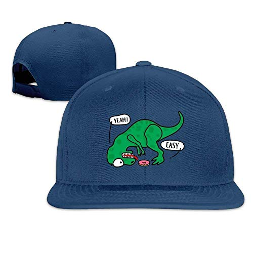 Baseball Caps Dinosaur Love Donut Flat Bill Outdoor Sport Fishing Hats Dad Hat ny cap
