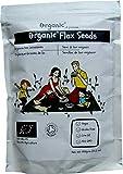 Semillas de lino/Flax Seeds/Flaxseed/Linseed, Marrón, Certificado 100% ORGÁNICO, Puro, Natural, 1kg