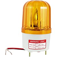 sourcingmap® Industrie Rotary AC 220 V-Notfall-Warnleuchte, Gelb