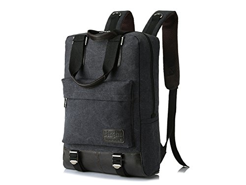 HOUHOUNNPO Perfect Business Laptop Computer Backpack Hiking Backpack for Student Business Man Women-Black