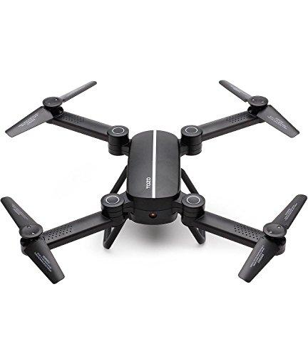 TOZO ® Q1012 Drone estándar portátil FPV en tiempo real de la cámara HD 2.4GHz / WiFi 4 Axis RC control remoto Hexacopter Drone Quadcopter remoto con cámara negro