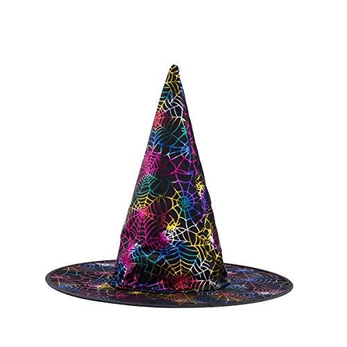 kinnter HalloweenHexeHut fürHalloweenWeihnachtsfeier fürKinderKinder ErwachseneHexeHut fürHalloweenKostümKappe