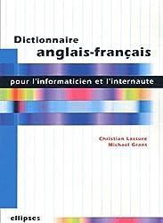 Dictionnaire anglais-français pour l'informaticien et l'internaute