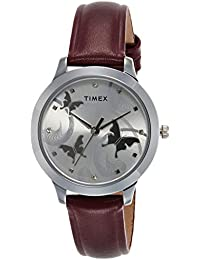 Timex Analog Silver Dial Women's Watch-TW00ZR272E