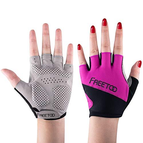 FREETOO Fitness Handschuhe Damen Handfläche Schützen - Kein Schmerz und Schwiele Nicht mehr