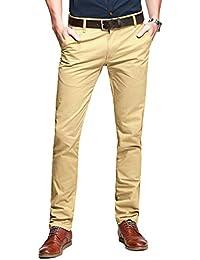 Match Uomo Pantaloni Casual Slim #8025