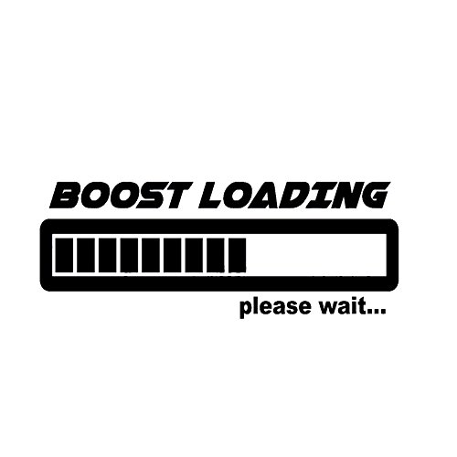 SPA Red : Boost Loading Vinyl Decal Funny Gas Jdm Stickers Illest Car Window Graphic Turbo