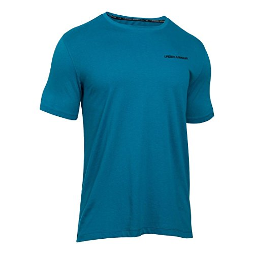 Under Armour T-Shirt da Uomo Charged Cotton SS, Uomo, Fitness T-Shirt Charged Cotton SS blu