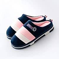 YMYGYR Winter Warm Slippers,Winter couples cotton slippers, indoor warm Shoes autumn, antiskid home man and woman
