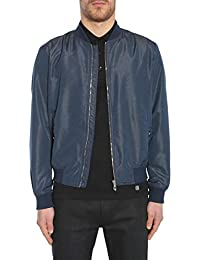 Versace Collection Homme V500450VT01405V8004 Bleu Polyester Blouson d67d2dc3df4