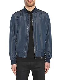 Versace Collection Homme V500450VT01405V8004 Bleu Polyester Blouson 2f2be263e3d