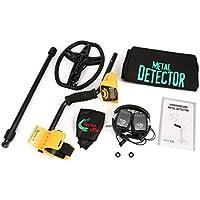 Tellaboull For Detector de Metales subterráneo Profesional MD6350 Buscador de buscadores de Oro Treasure Hunter de
