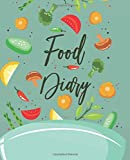Food Diary: Daily Food Journal | A Food and Exercise Diary to Track Your Eating and Exercise for Weight Loss (90 Days Meal and Activity Tracker )