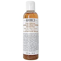 Kiehls Calendula Herbal Extract AlcoholFree Toner (Normal to Oil Skin) 125ml/4.2oz