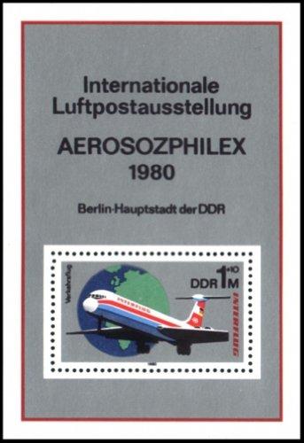 ost-Ausstellung sozialistischer Länder zum 25.Jahrestag der Interflug. (Land Mädchen Jacken)