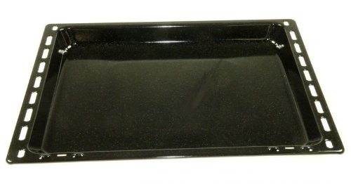 Bandeja de horno esmaltada (OT) 32mm, compatible con dispositivos de: AEG Arthur Martin Corber...