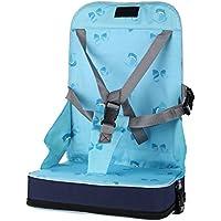 Itian Portatile Pieghevole del Cablaggio del bambino Infantile Dining Chair On the Go Booster Sedia della Sede di Borsa da Viaggio di Stoccaggio