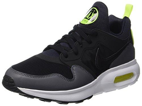 Nike Herren Air Max Prime Sneaker, Schwarz (Black/Black-Dark Grey-Vert Volt), 46 EU (Stiefel Nike Winter)