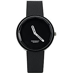 SaySure - Quartz Watches.Leather Strap No Second Hand Dress WristWatches.Ladies Clock Hours.Relogio Feminino - CHA-UK-CJ-BG-000364